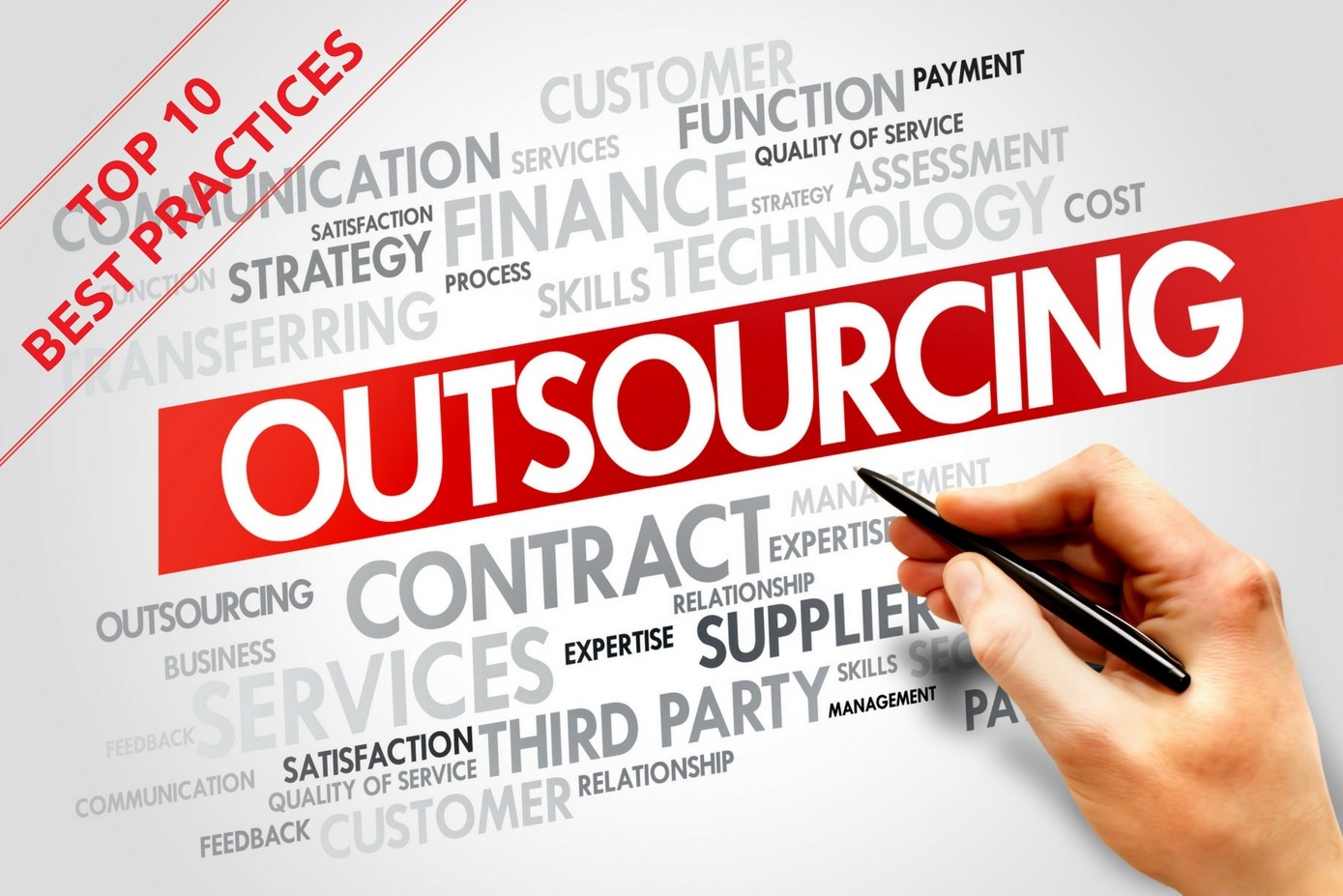 Top 10 Best Outsourcing Practices
